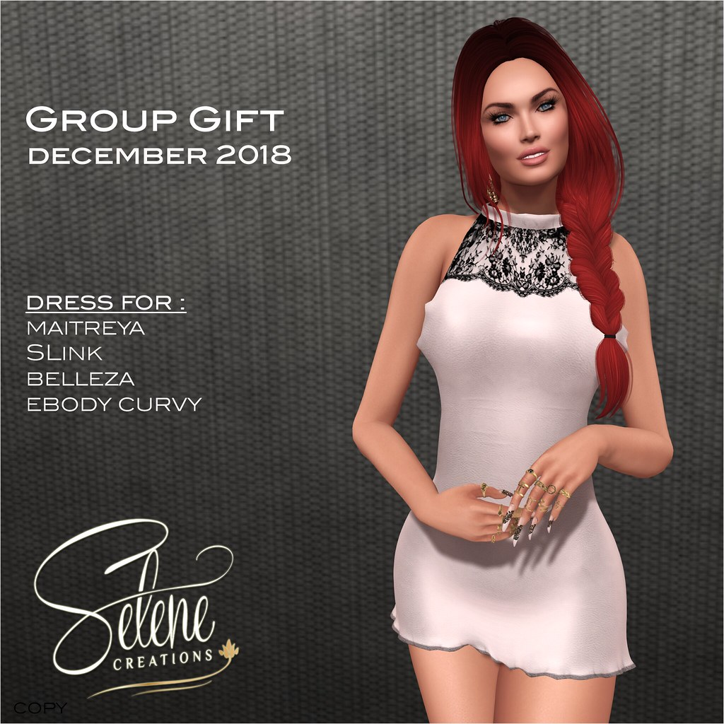[ Selene Creations ] Group gift december 2018