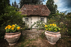 the worlds most charming garden shed - abris de jardin - Château de Boutemont, Ouilly-le-Vicomte, Calvados, Normandy, France - Photo of Saint-Hymer