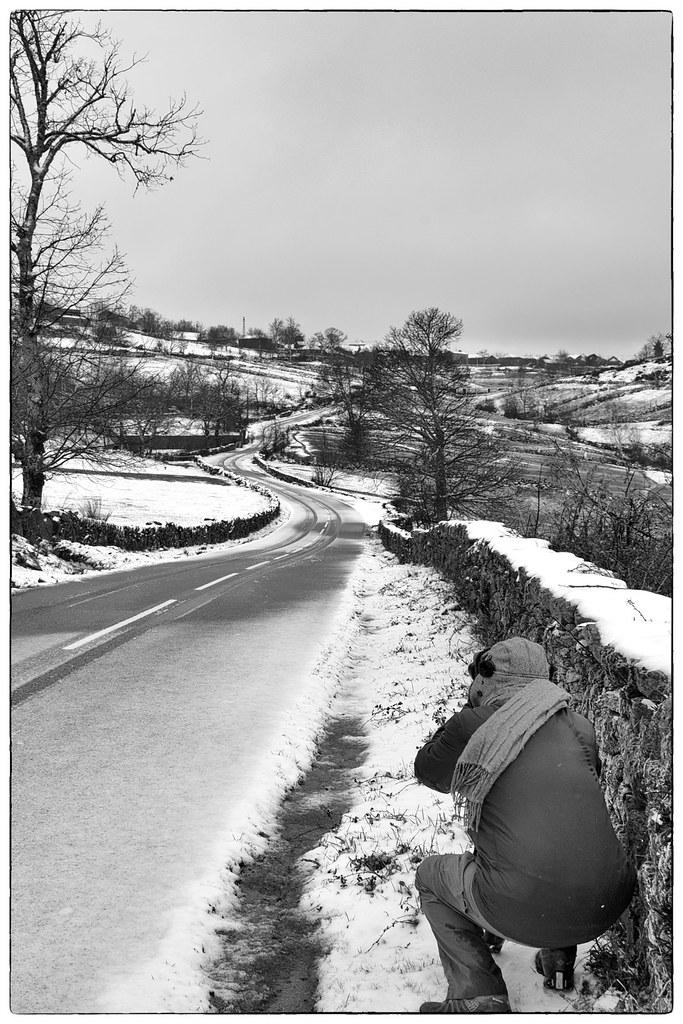 Fotógrafos em dia de nevada - Barroso (13)