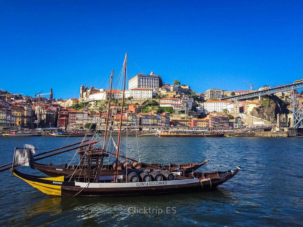· Ruta por Oporto y alrededores · Vistas de la Ribeira desde Vilanova de Gaia · Click_Trip ·