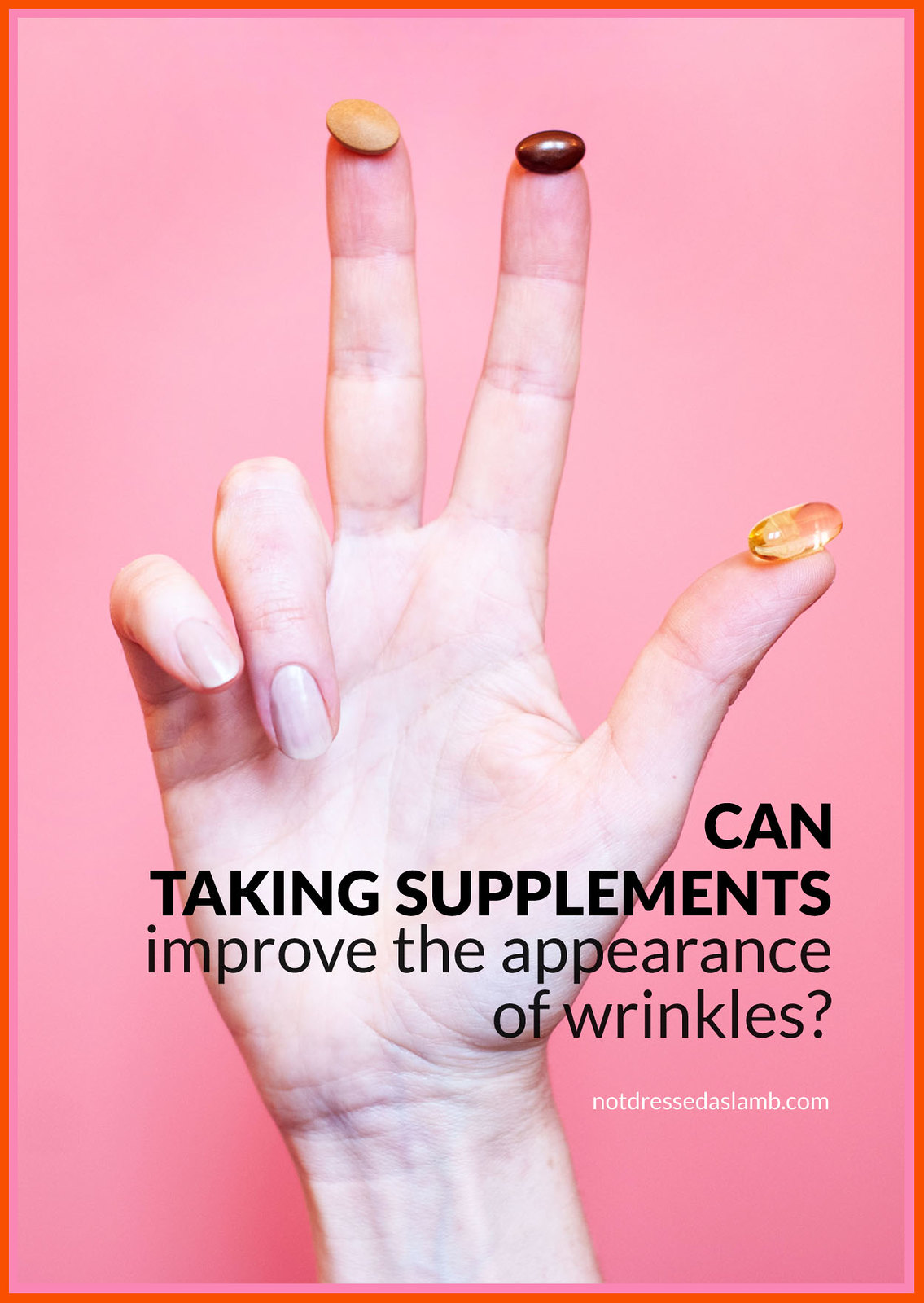 Can Taking Specialised Supplements Improve Your Skin's Fine Lines and Wrinkles? A Seven Seas Perfect7 Renewal Advanced Review | Not Dressed As Lamb