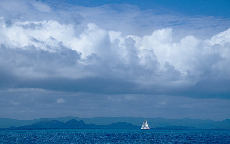 Sailing under cloud