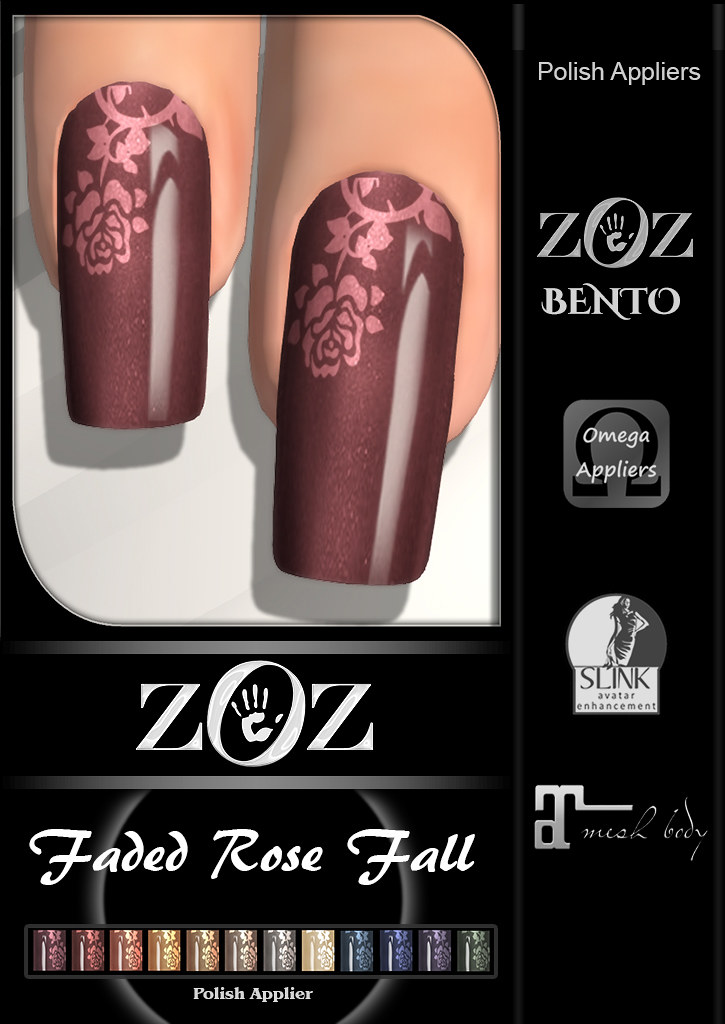 {ZOZ} Faded Rose Fall L pix - TeleportHub.com Live!
