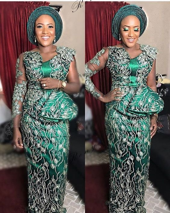 beautiful Aso Ebi styles 2019