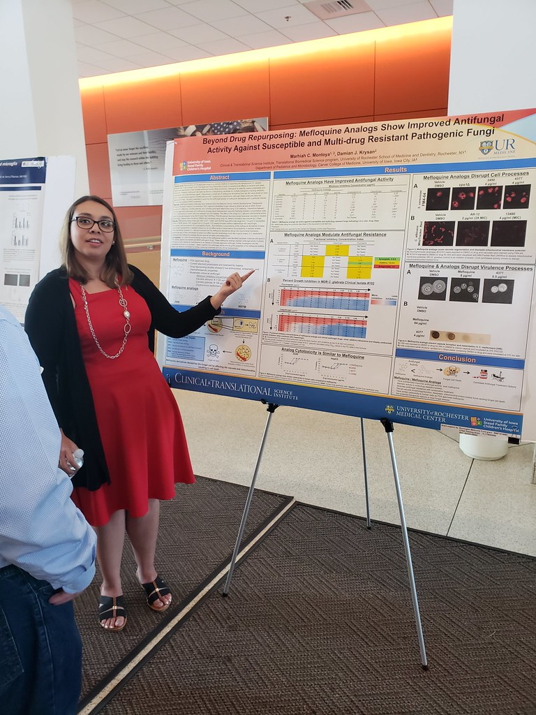Marhiah Montoya discusses her work on drug-resistant strains of candida