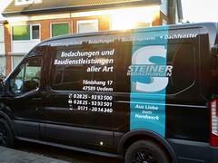 Steiner, het Duitse dakdekkersbedrijf.