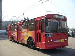 6372_20060406_114 Moscow trolleubus ZiU-682G 6 mikrorayon Bibirevo