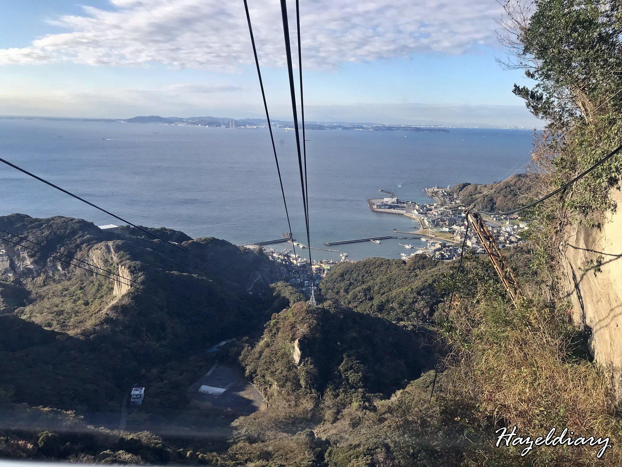 hama kanaya-Mount Nokogiriyama-ropeway