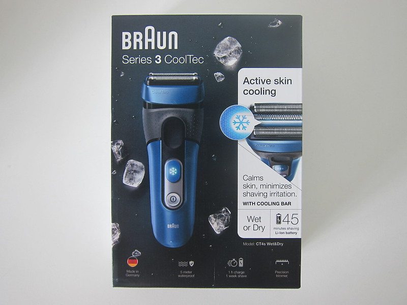 Braun CoolTec CT 4S Shaver - Box Front
