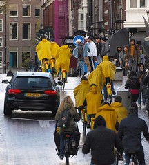 Amsterdam, rainy day
