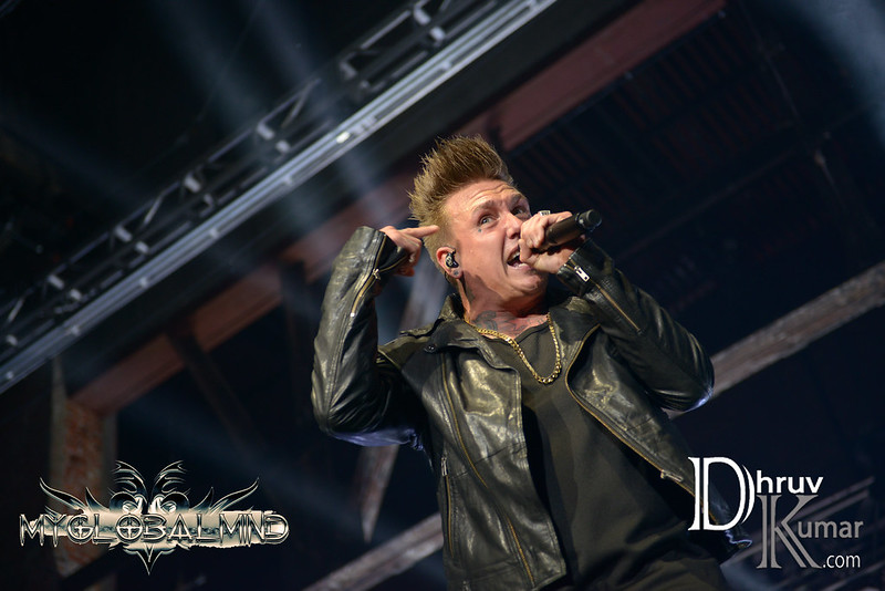 Papa Roach -- Photo Credit: Dhruv Kumar