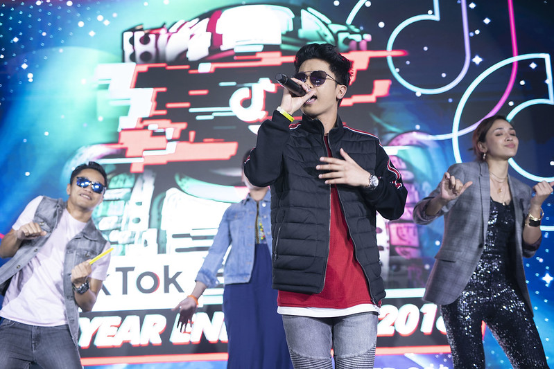 P4B - Haqiem Rusli Taking The Stage With Local Celebs At The Tiktok Party