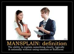 Mansplain #1