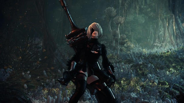 Monster Hunter World - 2B Upskirt