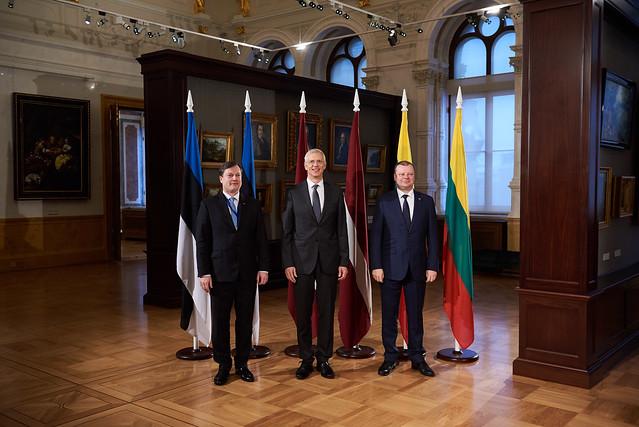 Ministru prezidents Krišjānis Kariņš vada Baltijas Ministru padomes Premjerministru sanāksmi