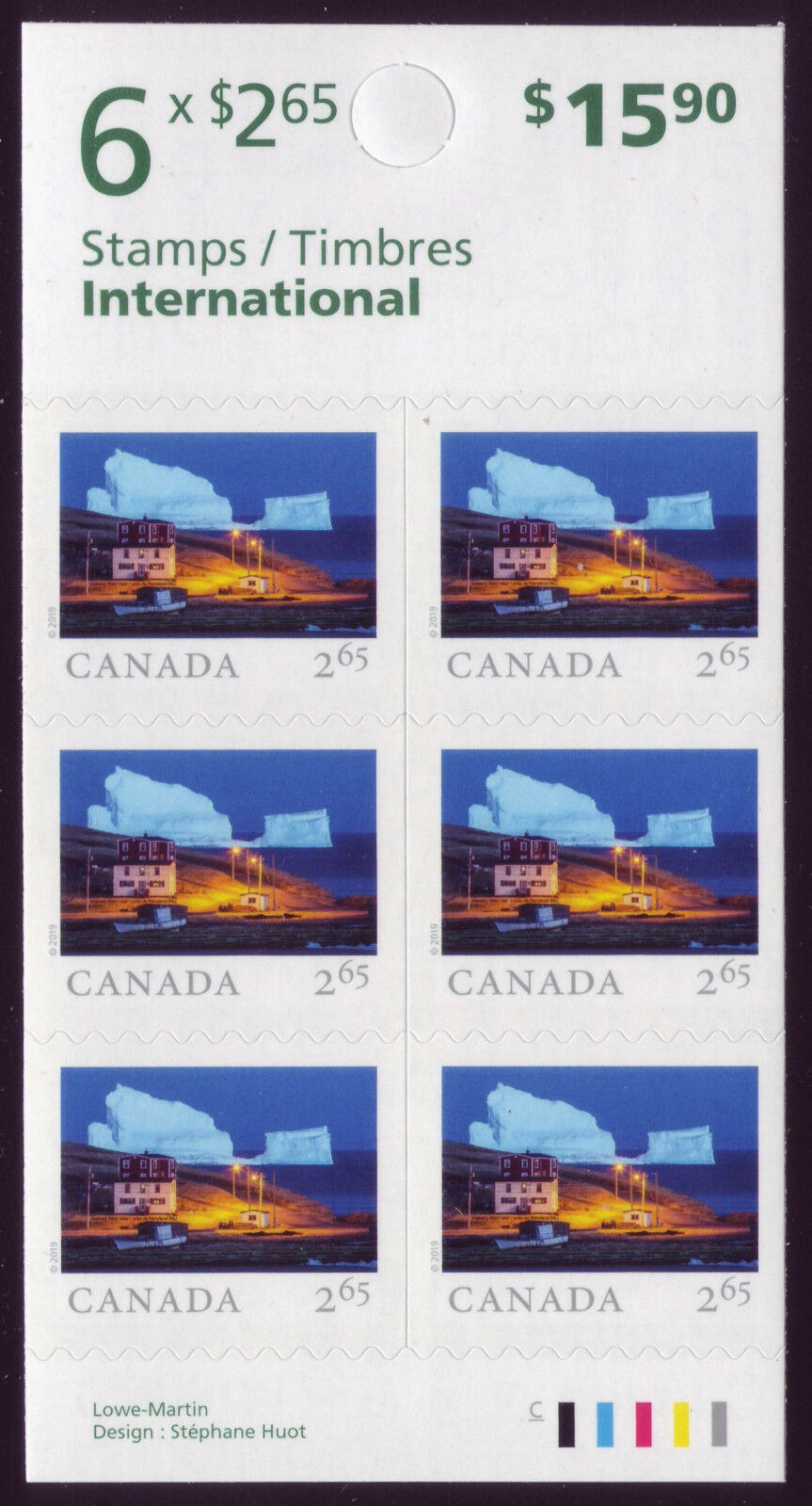 Canada - From Far and Wide (January 14, 2019) international rate booklet of 6