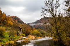 Goumois, frontière franco-suisse