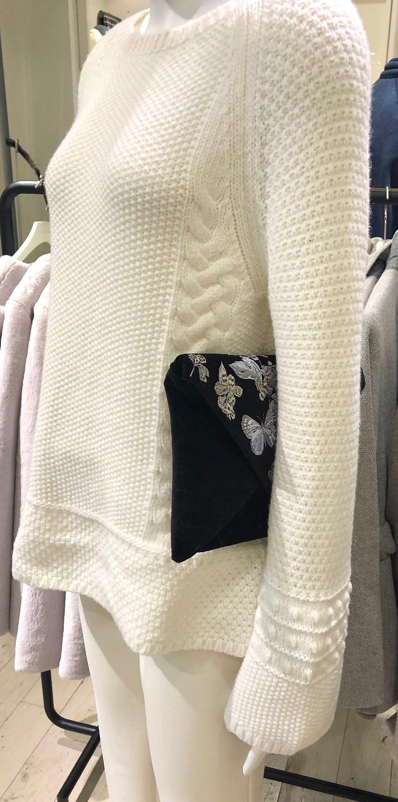 Winter White Outfit Inspiration at Ann Taylor Prudential Center