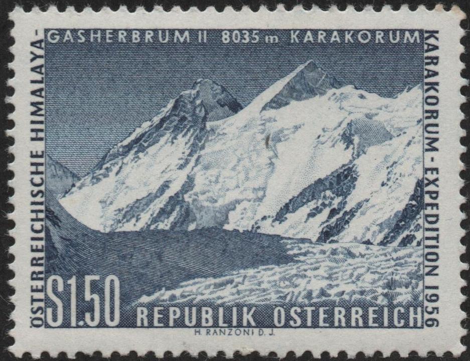 Austria - Scott #618 (1957)