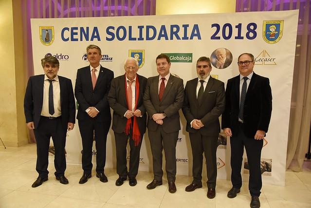 Cena solidaria de Mensajeros por la Paz