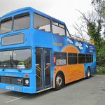 Northern Counties Palatine bodied Leyland Olympian K742ODL at IOW Bus Museum 20 May 2018