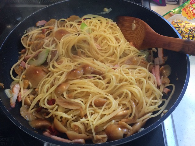 Pasta with Mashroom