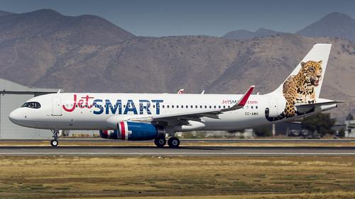 Airbus A320-232SL / JetSMART / CC-AWH