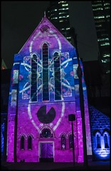 Projected Image on to St Stephens Chapel-4=