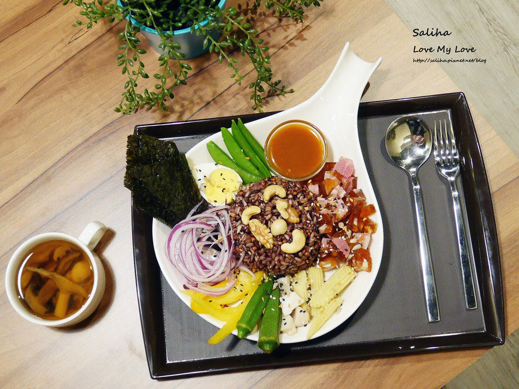 台北松山區民生社區有貓咪不限時餐廳好吃素食輕食早午餐brunch推薦 (6)