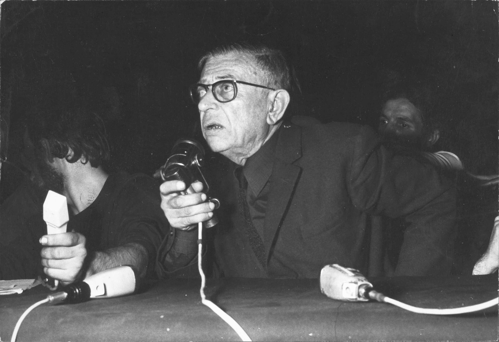 Пресс-конференция Жана-Поля Сартра 20 мая 1968