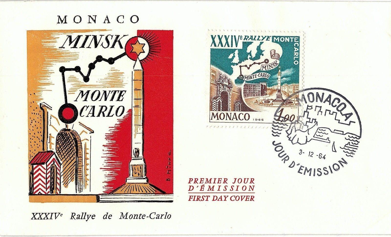 Monaco - Scott #600 (1964) first day cover