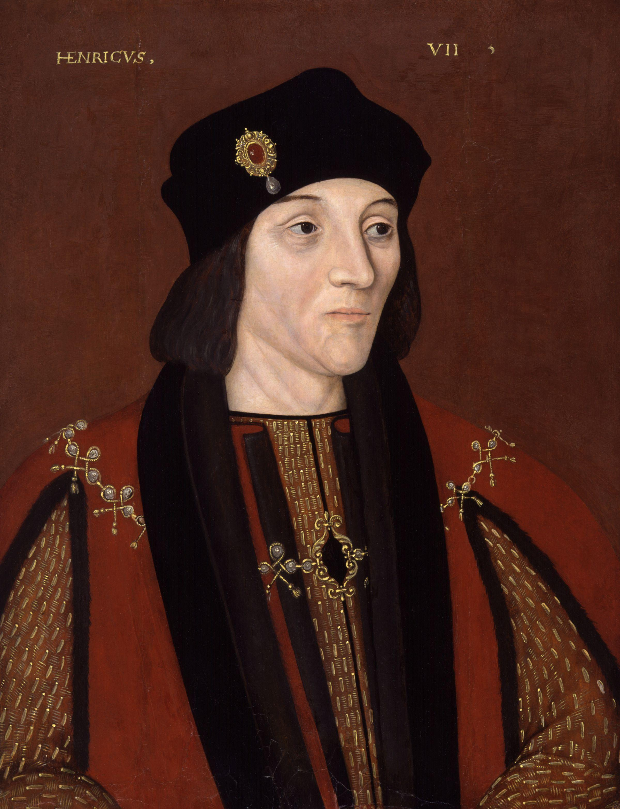 Late 16th-century copy of a portrait of Henry VII by an unknown artist.. Purchased in 1974 by the National Portrait Gallery and currently on display at the Museum of Fine Arts in Houston, Texas.