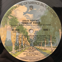 TOWER OF POWER:URBAN RENEWAL(LABEL SIDE-A)
