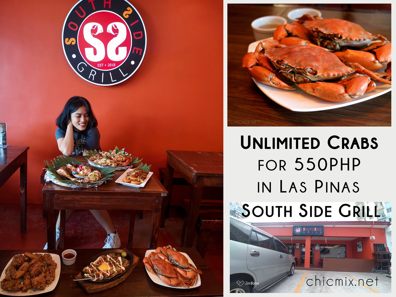 Unlimited Crabs for 550 Pesos and More : Southside Grill Las Pinas