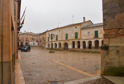 Salmerón, Plaza Mayor