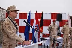 Ministar Krstičević s hrvatskim vojnicima u Mazar-e-Sharifu