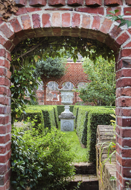 Garden at Restration House, Rochester