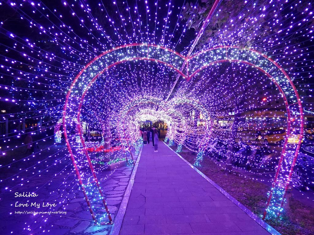 宜蘭礁溪湯圍溝公園附近景點燈光隧道 (3)