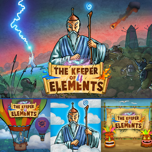 Keeper of 4 Elements&Themes