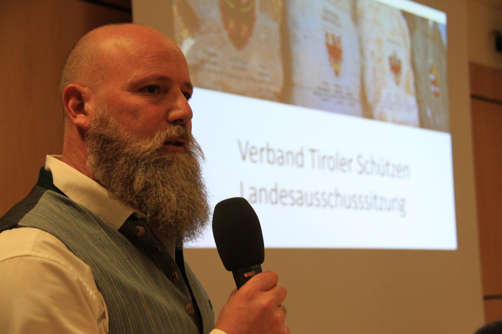 Landesausschusssitzung Verband Tiroler Schützen, Brixen, 24.11.2018