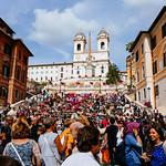Spanish Steps - https://www.flickr.com/people/34965710@N05/