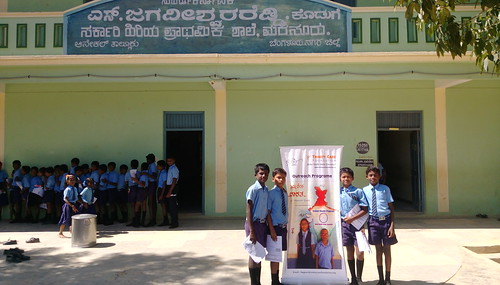 Health Program in Marsur Government Schools