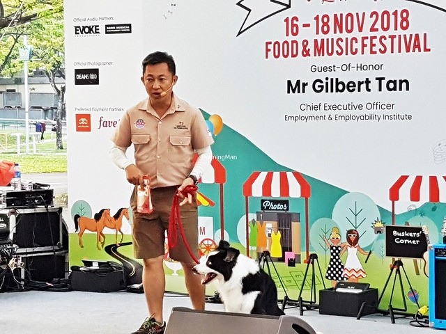Dog Trainer Sunny Chong & Border Collie Victoria