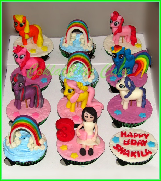 Cupcake set My Little Pony