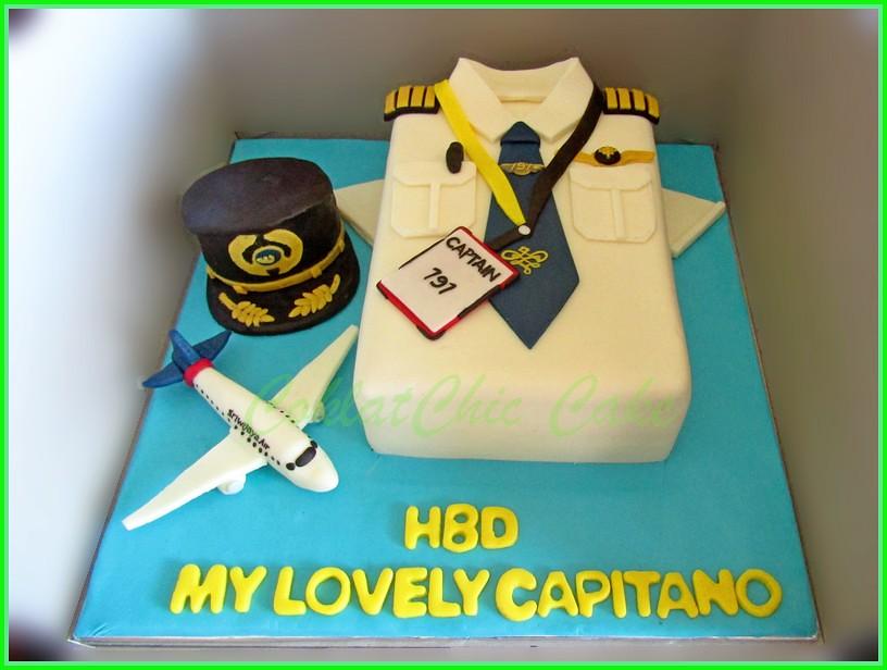 Cake Pilot CAPITANO 15 cm