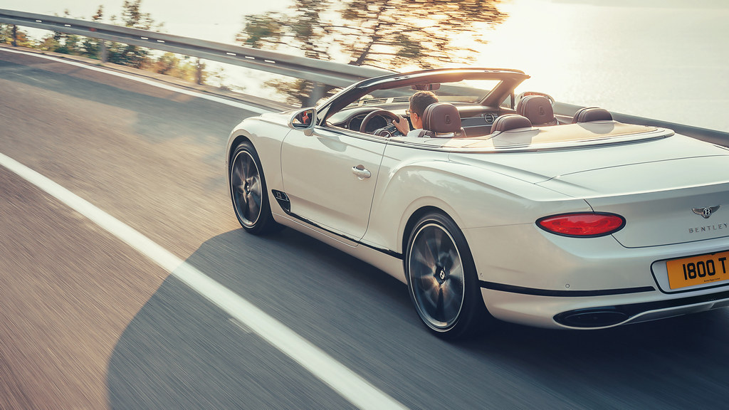 Bentley Continental GT Convertible 7