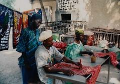 Batik factory in Gambia