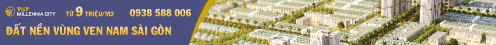 Bán đất nền dự án T&T Millennia City Long Hậu.