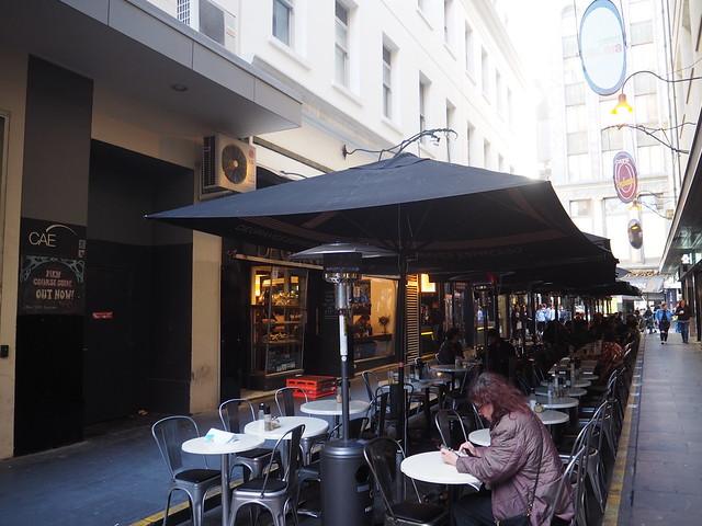 P9089707 デグレーブス・エスプレッソ・バー (Degraves Espresso Bar) メルボルン オーストラリア カフェ