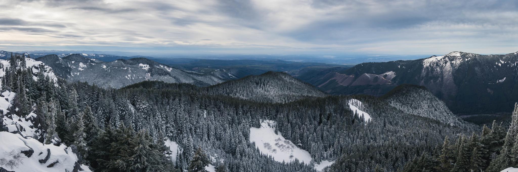 Northwestern panoramic view